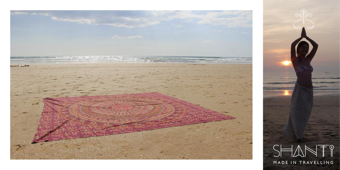Pano Praia / PicNic ou Tela Parede