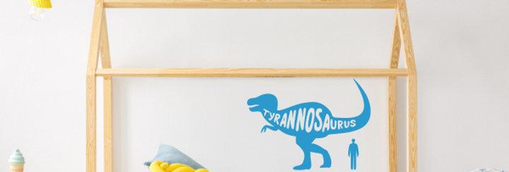Tyranosaurus Rex Dinosaur Wall Decal