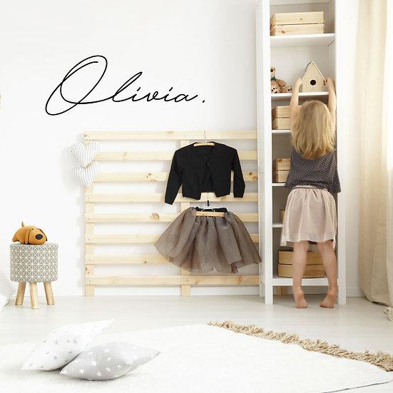 Custom Name-it - Style Olivia