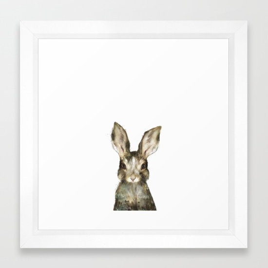 Little Rabbit - Amy Hamilton FRAMED print