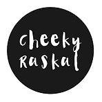 Cheeky Raskal Logo - custom wall decals and eclectic home decor products