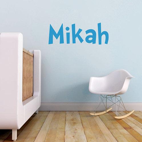 Custom Name-it - Style Mikah