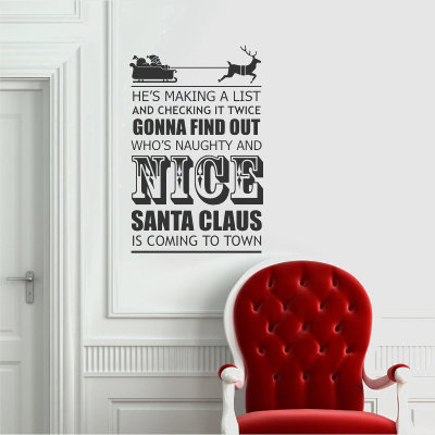Making a list Decal from