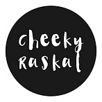 Cheeky Raskal Logo with white border.png