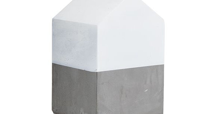 Cement House - Large White