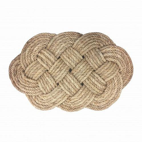 General Eclectic Braided Rope Doormat