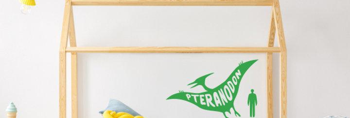 Pteranodon Dinosaur Wall Decal