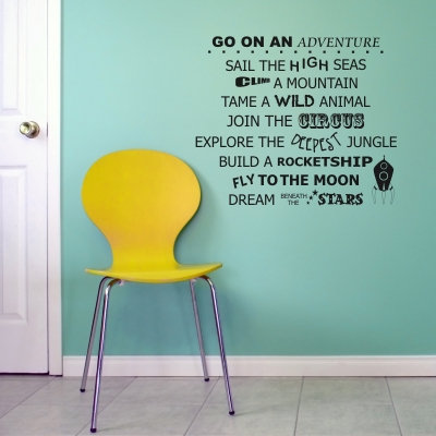 Go on an Adventure Decal