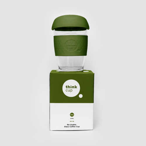 Think Cup - 12oz Moss