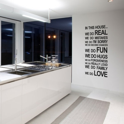 In This House Decal