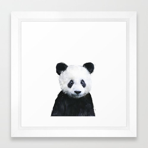 Little Panda - Amy Hamilton FRAMED Print