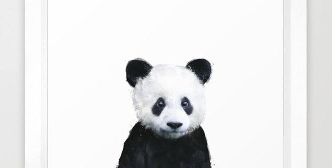 Little Panda - Amy Hamilton FRAMED Print