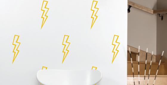 Lightning Bolt Decals