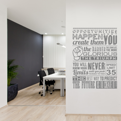 Opportunities Inspirational Decal