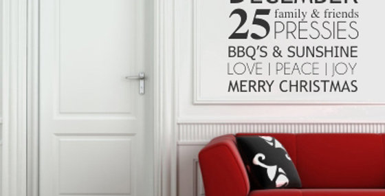 Christmas busblind Decal from