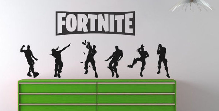 Fortnite Emote Pack - Wall Decals