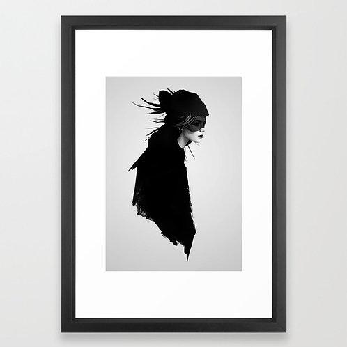 The Drift - Ruben Ireland FRAMED print