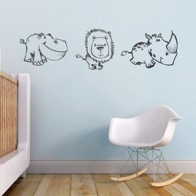 Safari Animals Sketched