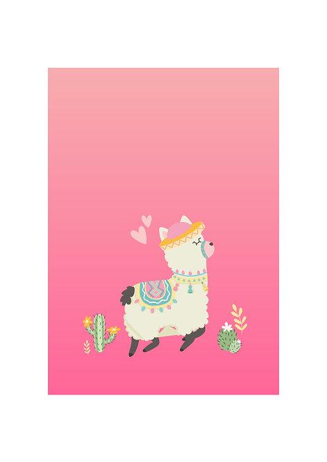 Alpaca - Download & Print