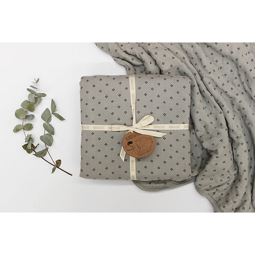 Wilder Garden Cot Blanket - Grey