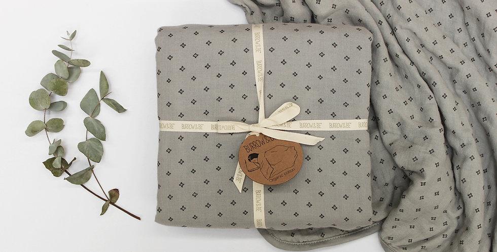Wilder Garden Cot Blanket - Grey