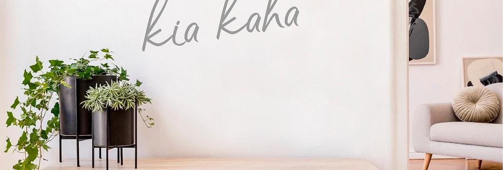 Kia Kaha decal