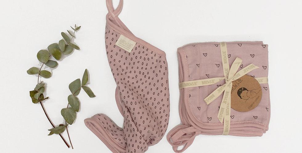 Wilder Garden Wash Cloth - Pink