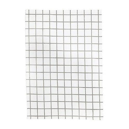 General Eclectic Tea Towel - Grey Grid