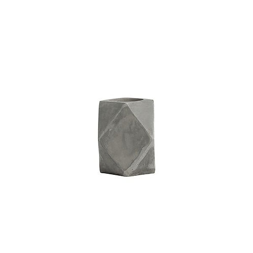 GE Cement Diamond Tealight holder