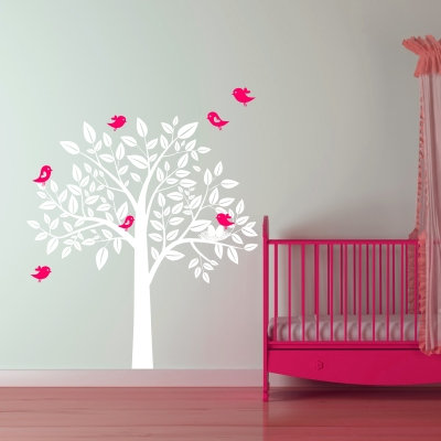 Birds in a Tree Decal