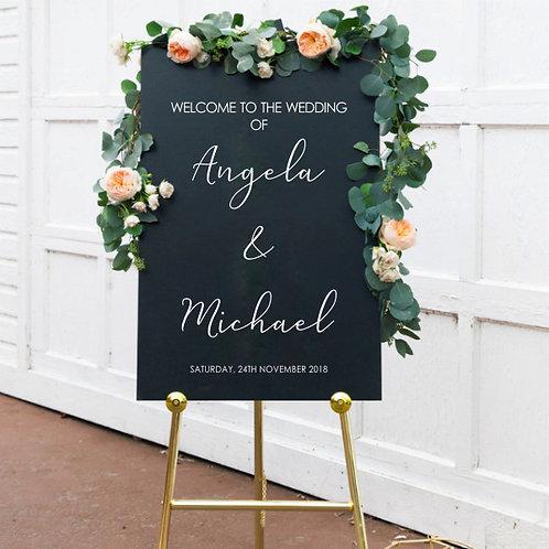 Custom Name-it - Wedding Welcome