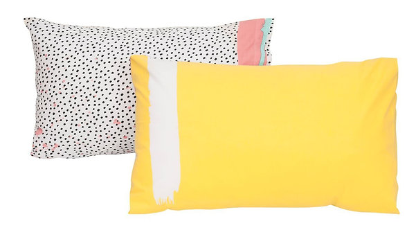 Pebbles Pillowcase - Set of 2