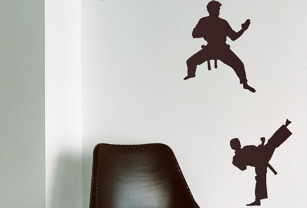 Karate Decals