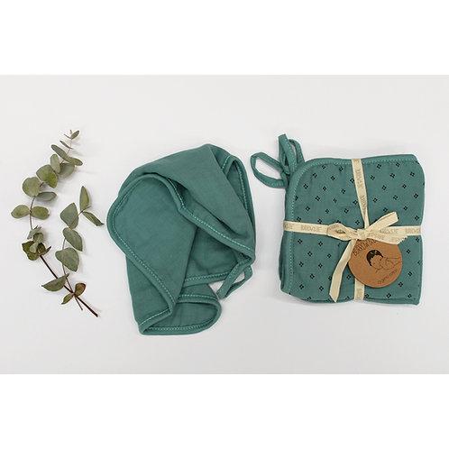 Wilder Garden Wash Cloth - Ocean