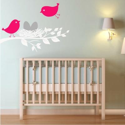Birdie Nest Decal