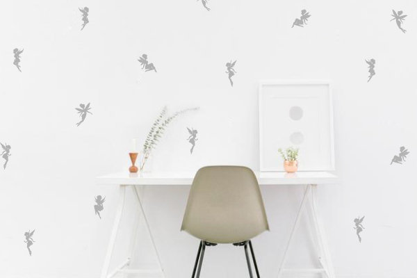 Mini Fairy Wall Decals
