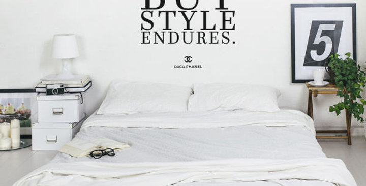 Fashion Changes but Style Endures Decal