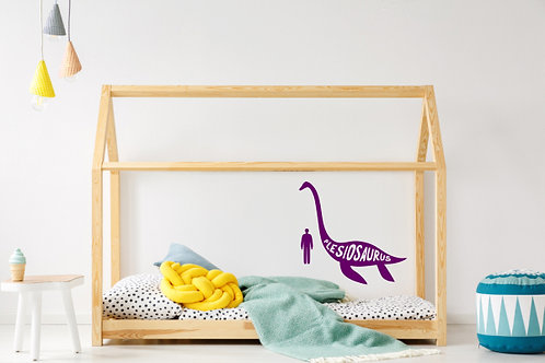 Plesiosaur Dinosaur Wall Decal