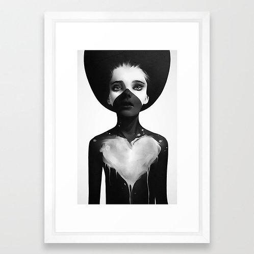 Hold On - Ruben Ireland FRAMED print