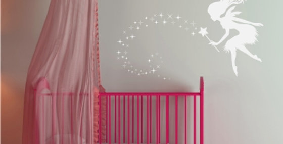 Enchanted Fairy Decal