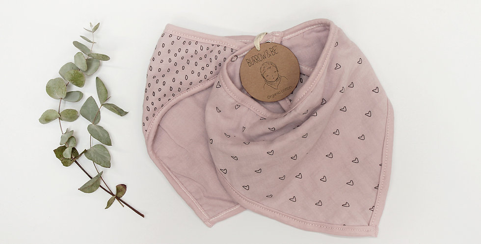 Wilder Garden Bib Set - Pink