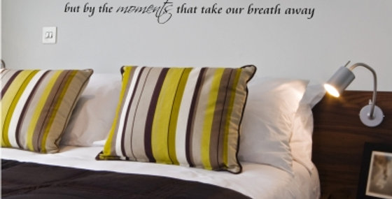 Breath Away Wall Quote