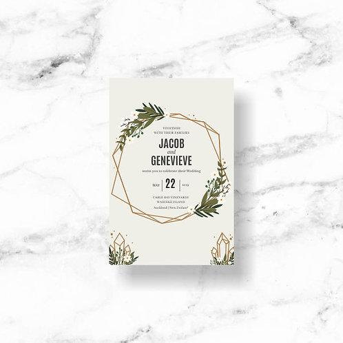 Wedding Invitation - Download & Print