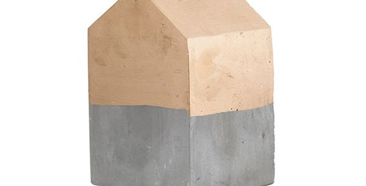 Cement House - Large Gold