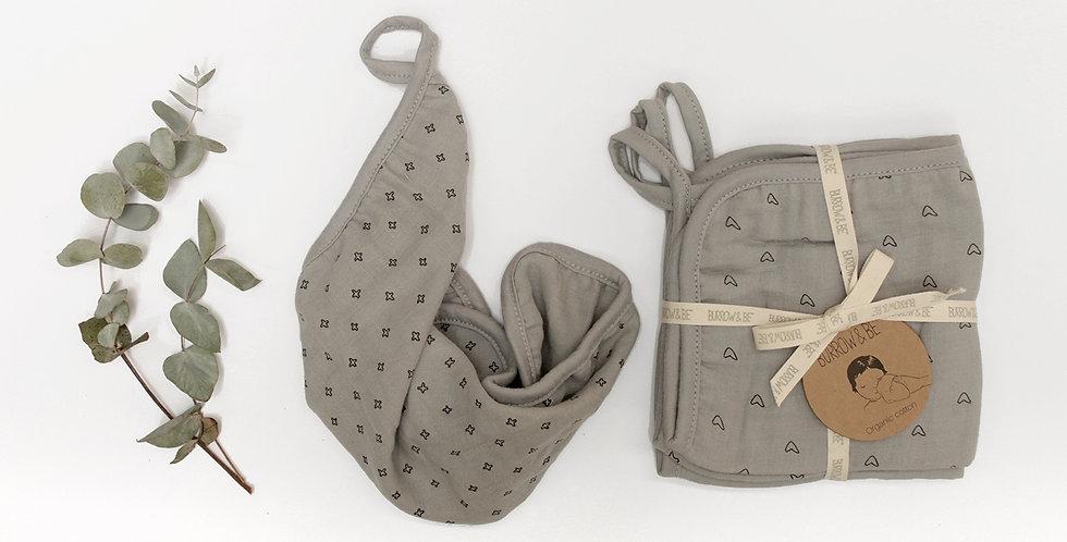 Wilder Garden Wash Cloth - Grey