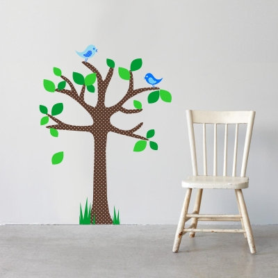 Polka Dot Tree Decal