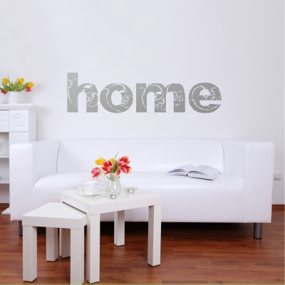 Home Wall Decal