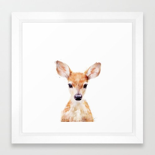 Little Deer - Amy Hamilton FRAMED print