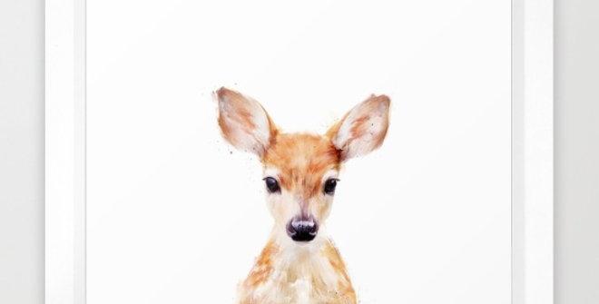Little Deer - Amy Hamilton FRAMED print