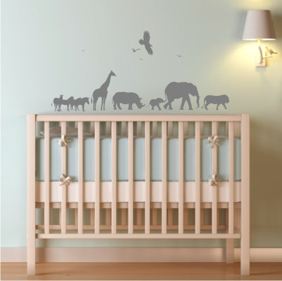African Safari Decal